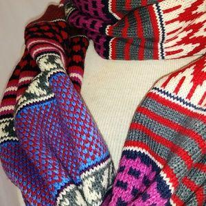 TRIBAL Sweater Infinity Scarf